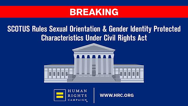 SCOTUS landmark anti-discrimination case