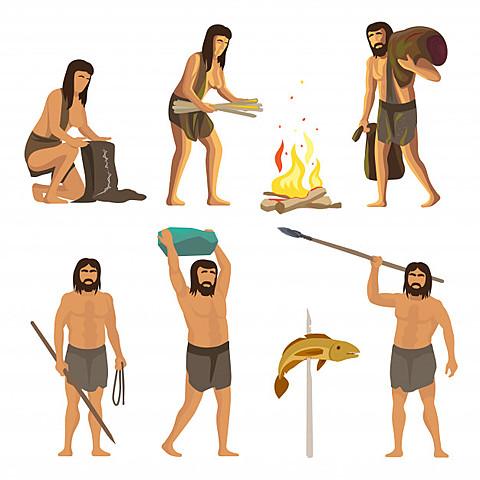 Herramientas de piedra y crecaión de fuego