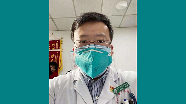Dr. Li Wenliang contracts COVID-19.