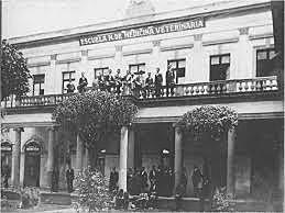 Primera escuela de medicina veterinaria en México
