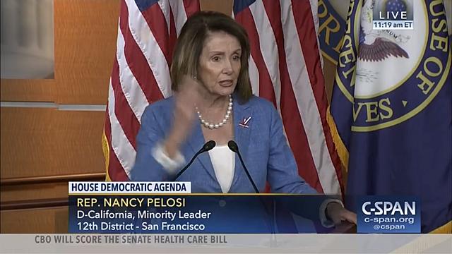 """Nancy Pelosi explains the """"Wrap Up"""" Smear."""
