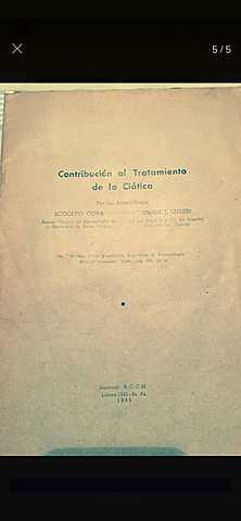 Fallecimiento de Rodolfo Cova.