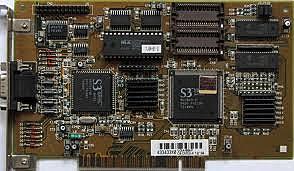 S3 86C911 - S3 Graphics