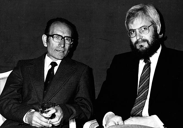Cesar Milstein y Georges E. Köhler