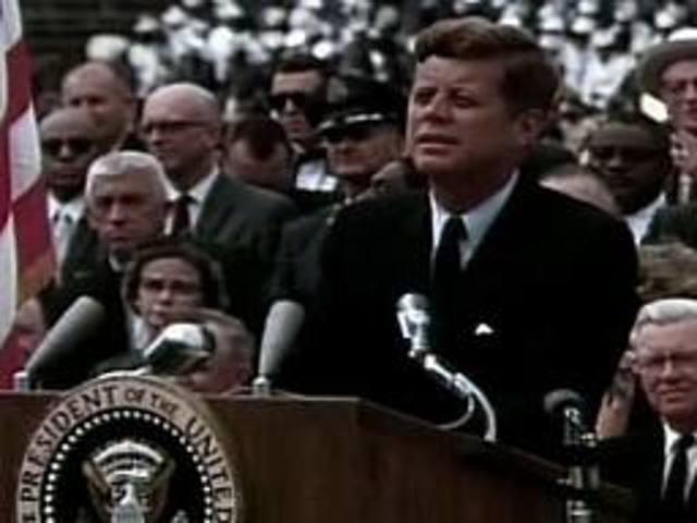 President Kennedy inspires people