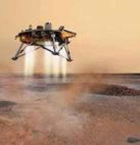 Mars Observer lifts off