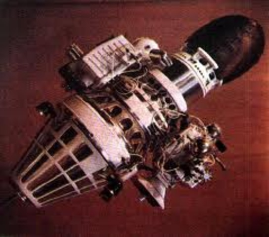 First unmanned moon landing