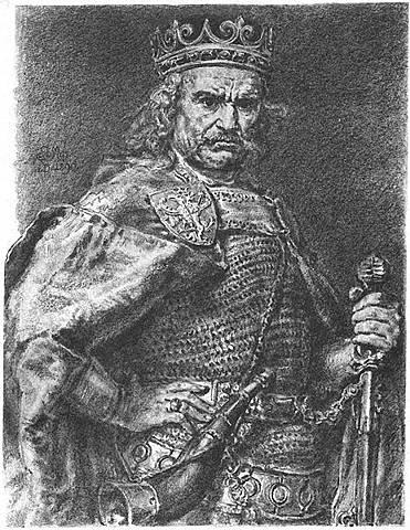 End of the division and coronation of Władysław Łokietek1320r.
