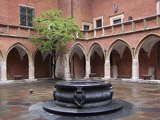 The first university in Poland, among first ones in Europe, Cracow Academy. Now - Jagiellonian University in Cracow 1364r.