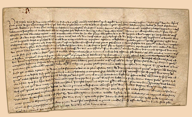 Signing the Union between Poland and Lithuania in Krewo1385r.