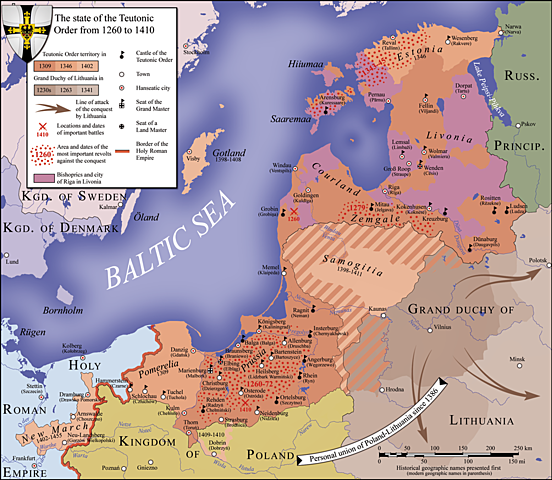 Reclaiming the access to the Baltic Sea1466r.