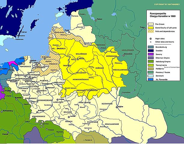 Golden age in Polish history:1507 - 1572