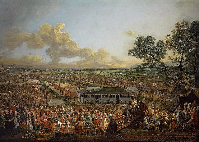 Last free election in Poland 1764r.