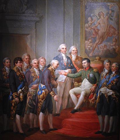 """Napoleon Bonaparte proclaims """"Księstwo Warszawskie"""" (Duchy of Warsaw) - 1807r."""