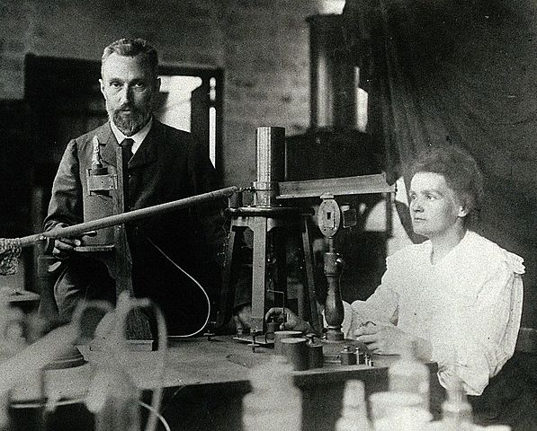 Nobel Prizes in physics and chemistry for Maria Skłodowska-Curie:- 1903r., 1911r.
