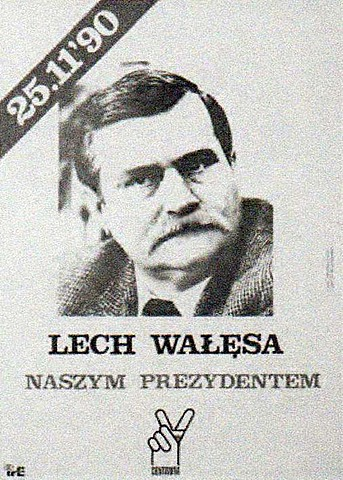 First free presidential election in a free country of Poland- 1990r.