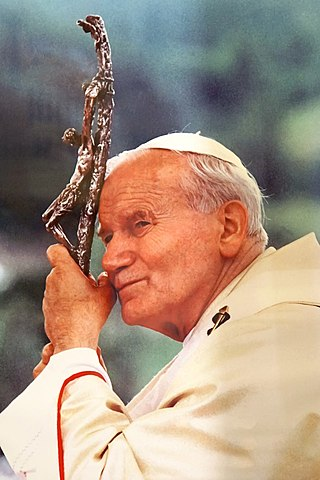 John Paul II the pope from Poland- 1978r.