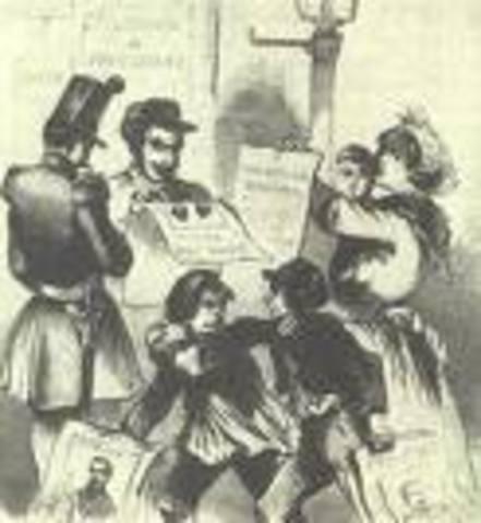 revolucion de 1848 en Francia