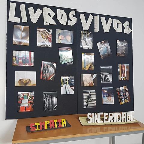 """SEMANA DA LEITURA: exposição fotográfica""""livros vivos"""""""