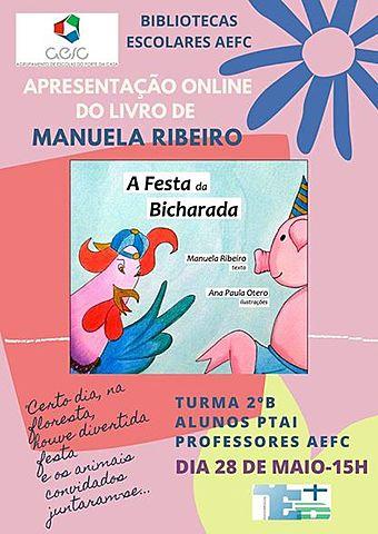 Bibliotecas escolares AEFC@ ONLINE : TELECONFERÊNCIAS:MANUELA RIBEIRO
