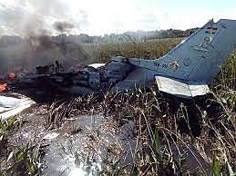 The plane of Samuel Doria Medina falls