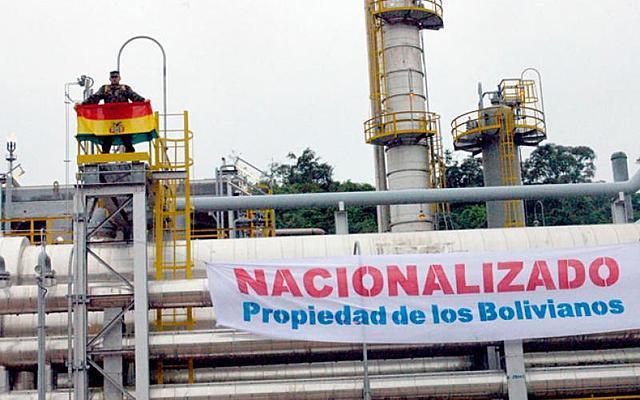 Nationalization of Bolivia's natural gas reserves