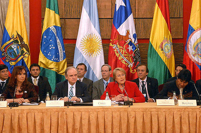 Intervention of the Union of South American Nations
