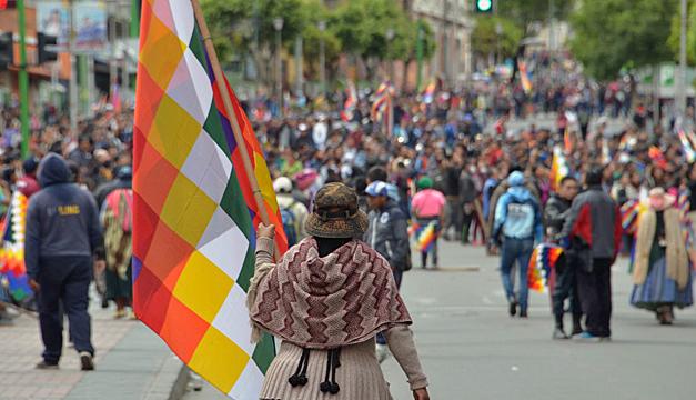 Political crisis in Bolivia