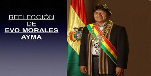 Evo Morales is re-elected