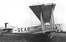 First international passenger service