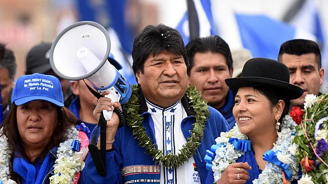 Bolivia reelects Evo Morales for a third term
