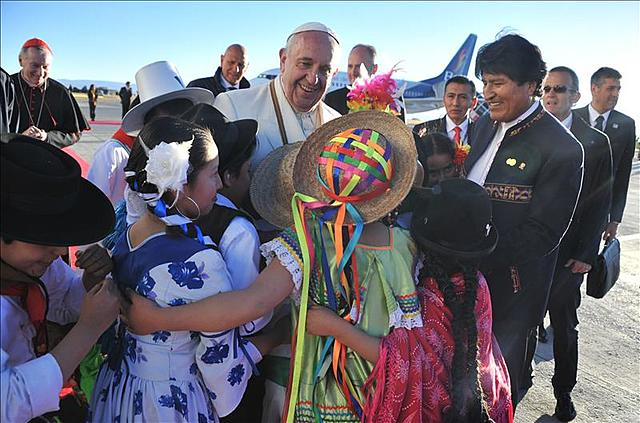 Pope Francis visit to Bolivia