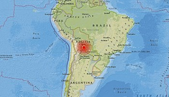 Eartquake in Chuquisaca