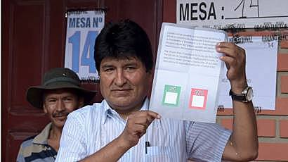 "Evo Morales ""recognizes his defeat"""