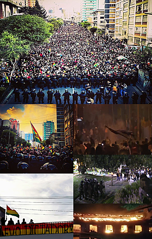 Protests in Bolivia