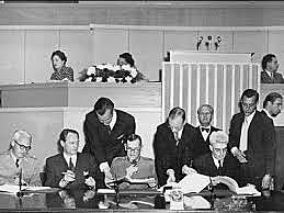 First international aviation treaty