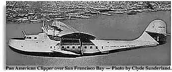 The Clipper makes the first transpacific flight