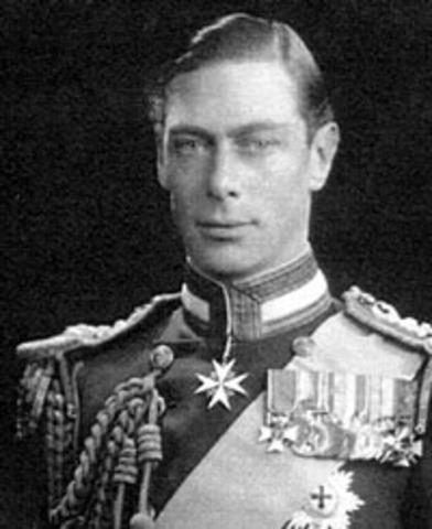 King George VI (1936 - 1952)