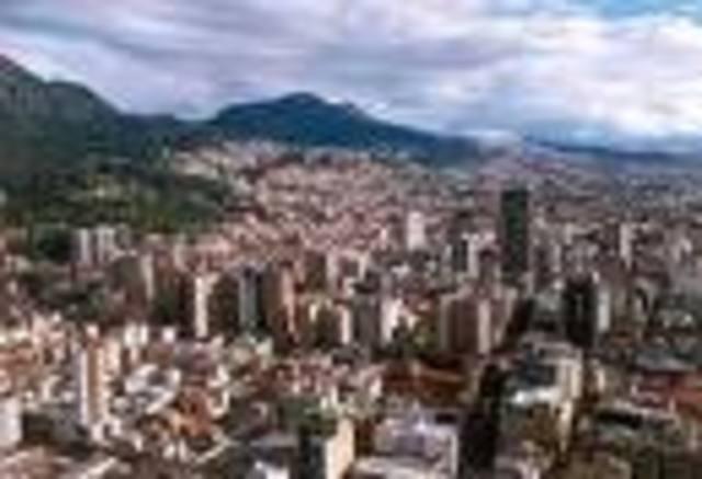 Ocupacion de Bogotá