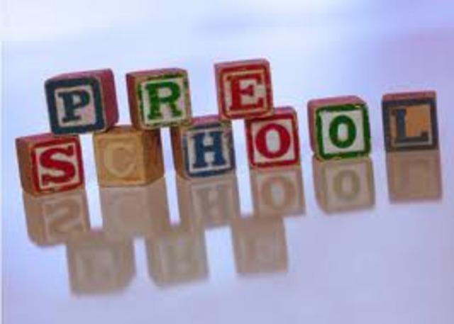 playschool starts