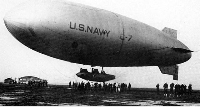 First airship