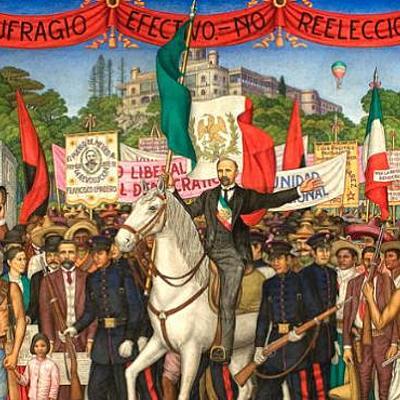 LA REVOLUCIÓN MEXICANA 1910-1917. timeline