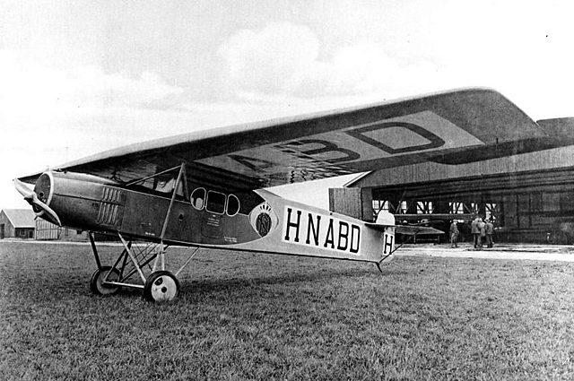 First passenger flight