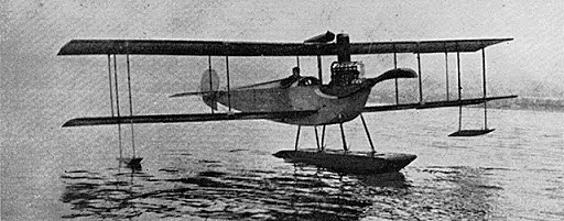 First sea plane