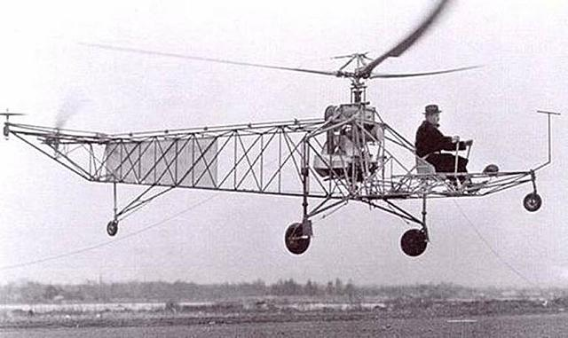 The first practical helicopter