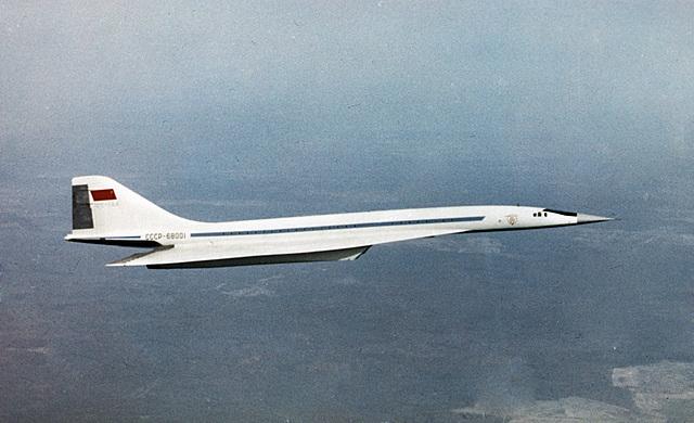Russian Built Tupolev Tu-144