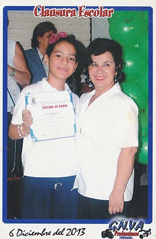 My graduation from the primary school