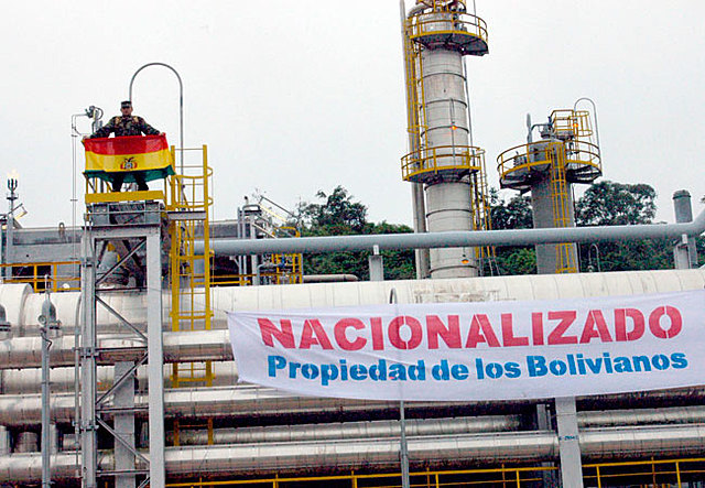 NATIONALIZATION OF HYDROCARBONS