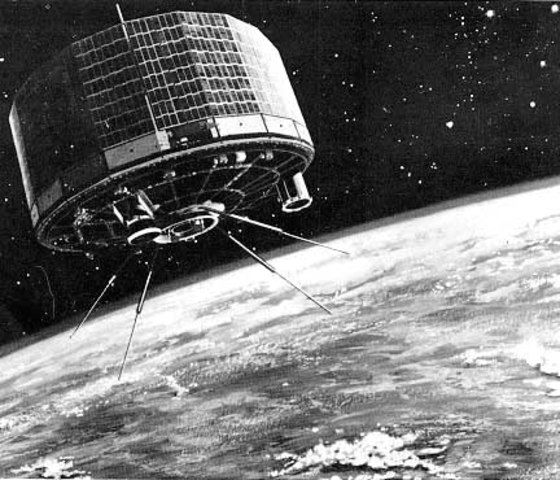 Första vädersatelliten