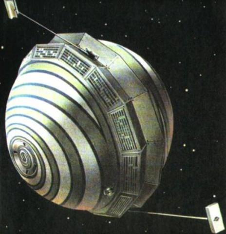Första navigationssatelliten